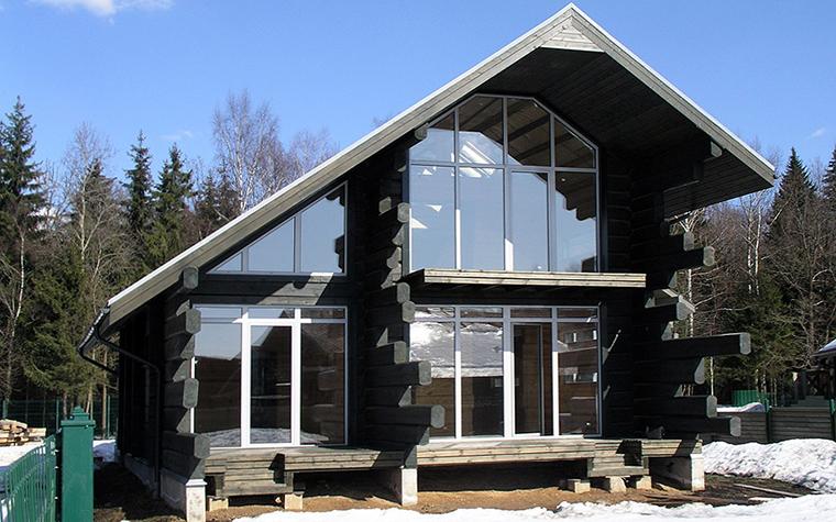 Фото № 33902 фасад  Загородный дом