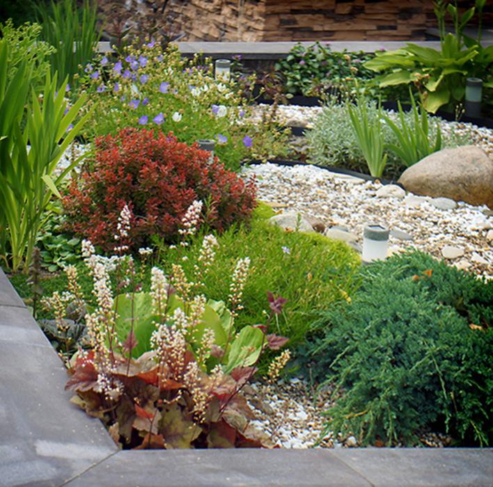 Загородный дом. цветник из проекта , фото №34542