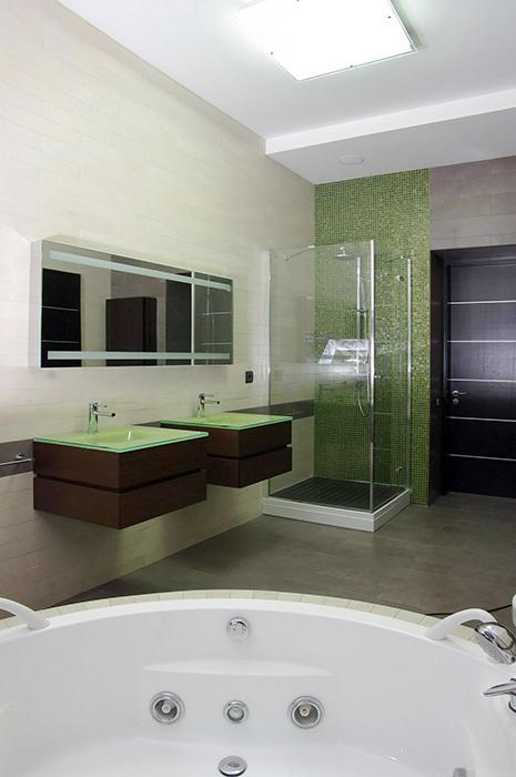 Фото № 34079 ванная  Загородный дом