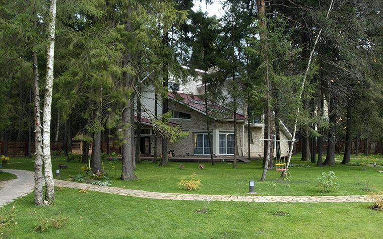 Загородный дом. фасад из проекта , фото №34240