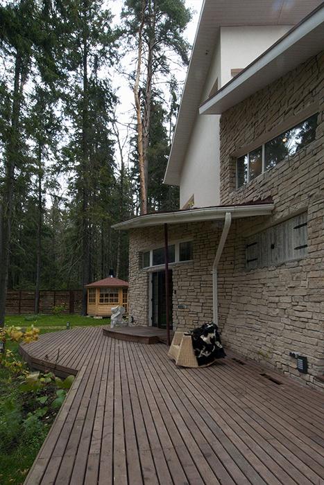 Загородный дом. фасад из проекта , фото №34241