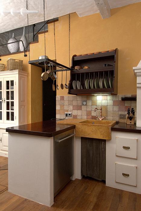 Загородный дом. кухня из проекта , фото №34245