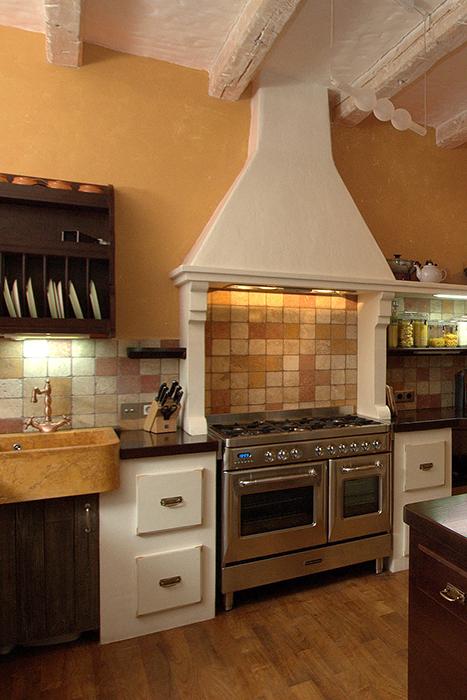 Загородный дом. кухня из проекта , фото №34246