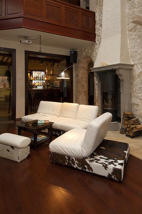 Загородный дом. гостиная из проекта , фото №34243