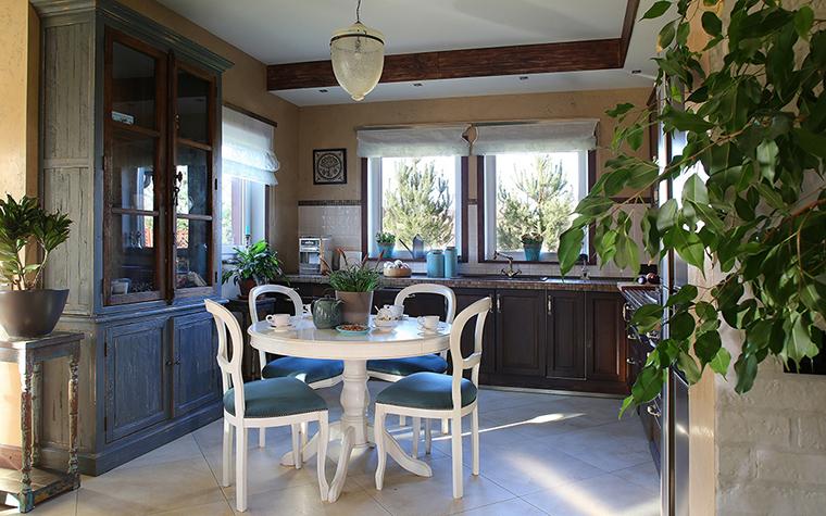 Загородный дом. кухня из проекта , фото №34449