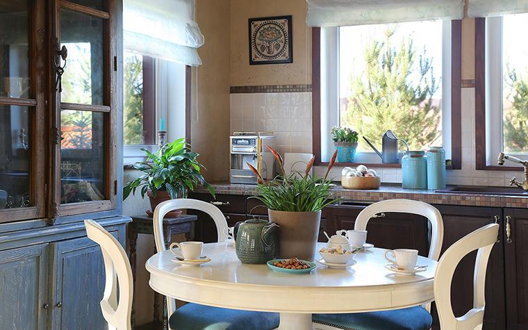 Загородный дом. кухня из проекта , фото №34451