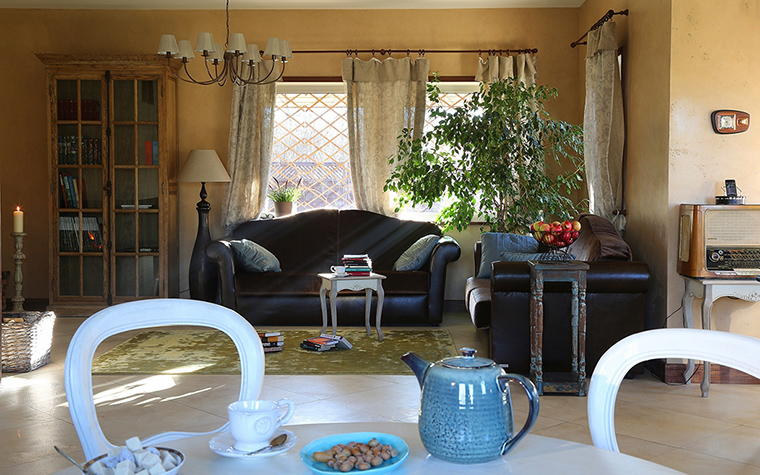 Загородный дом. гостиная из проекта , фото №34446