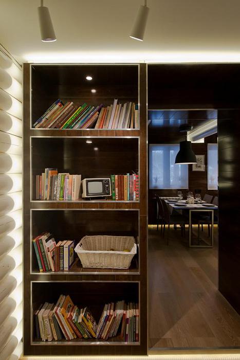 интерьер гостиной - фото № 34480