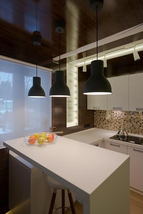 Загородный дом. кухня из проекта , фото №34473