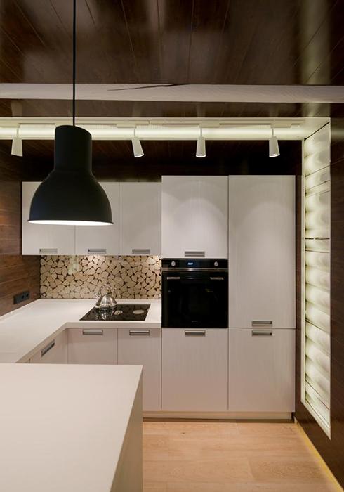 Загородный дом. кухня из проекта , фото №34475