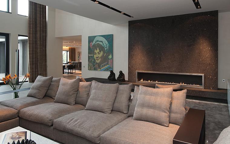 интерьер гостиной - фото № 34611