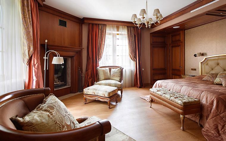 Загородный дом. спальня из проекта , фото №34669