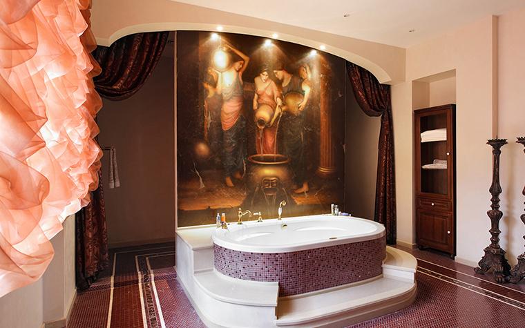 Фото № 34671 ванная  Загородный дом