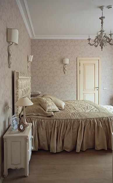 Загородный дом. спальня из проекта , фото №34670