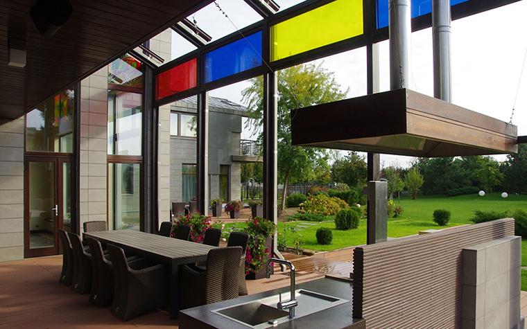 Загородный дом. терраса  из проекта , фото №34857