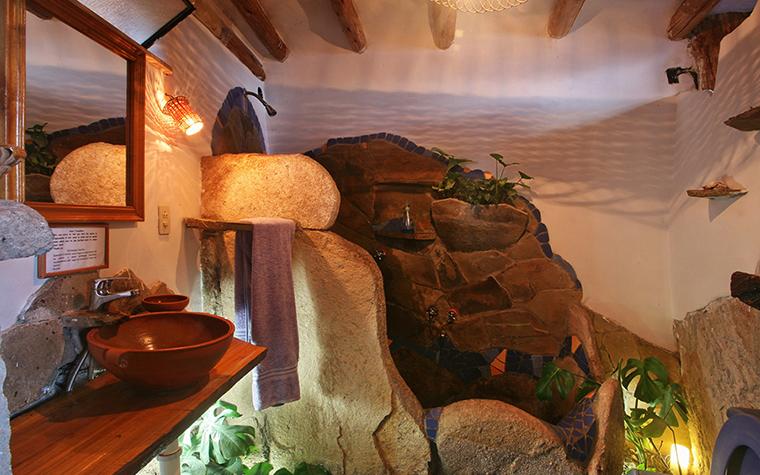 Фото № 34934 ванная  Загородный дом