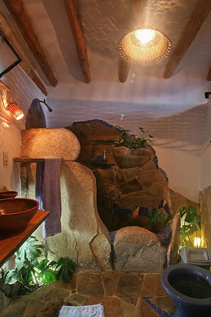 Фото № 34935 ванная  Загородный дом