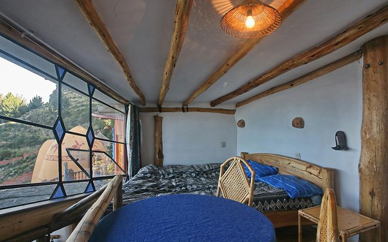 Фото № 34929 спальня  Загородный дом