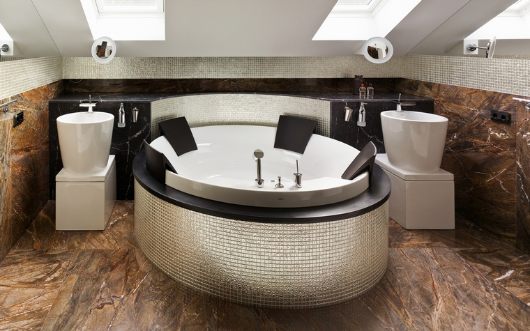интерьер ванной - фото № 35056
