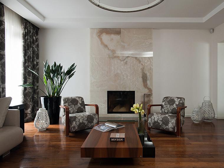 интерьер гостиной - фото № 35038