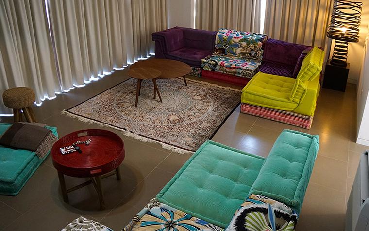 Загородный дом. гостиная из проекта , фото №35575