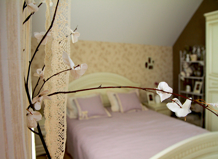 интерьер спальни - фото № 35818