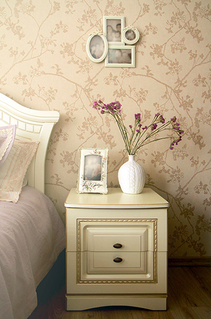 интерьер спальни - фото № 35825