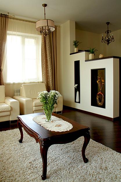 интерьер гостиной - фото № 35800