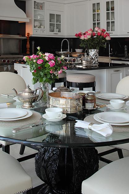 Фото № 35905 кухня  Загородный дом