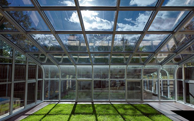 Загородный дом. зимний сад из проекта , фото №35948