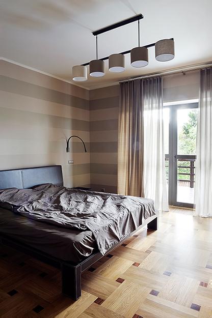 Загородный дом. спальня из проекта , фото №35944