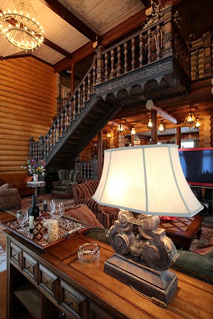 Фото № 36087 гостиная  Загородный дом