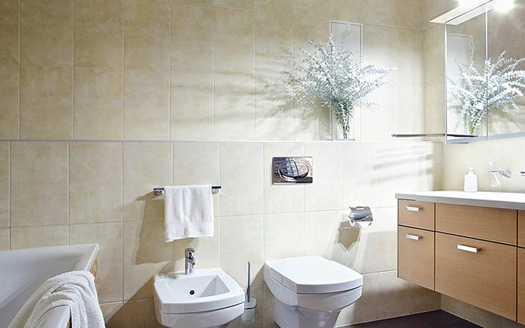 Загородный дом. ванная из проекта , фото №36162
