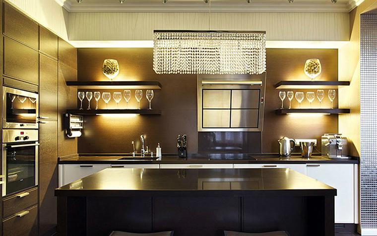 Загородный дом. кухня из проекта , фото №36167