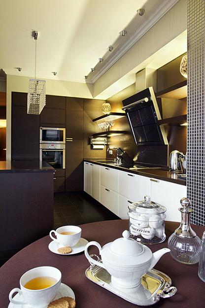 Загородный дом. кухня из проекта , фото №36168