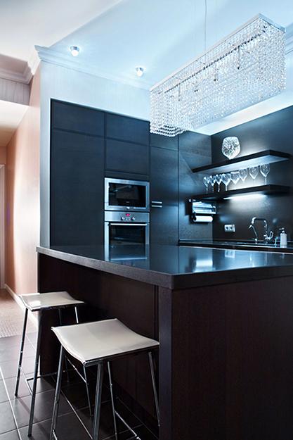 Фото № 36170 кухня  Загородный дом