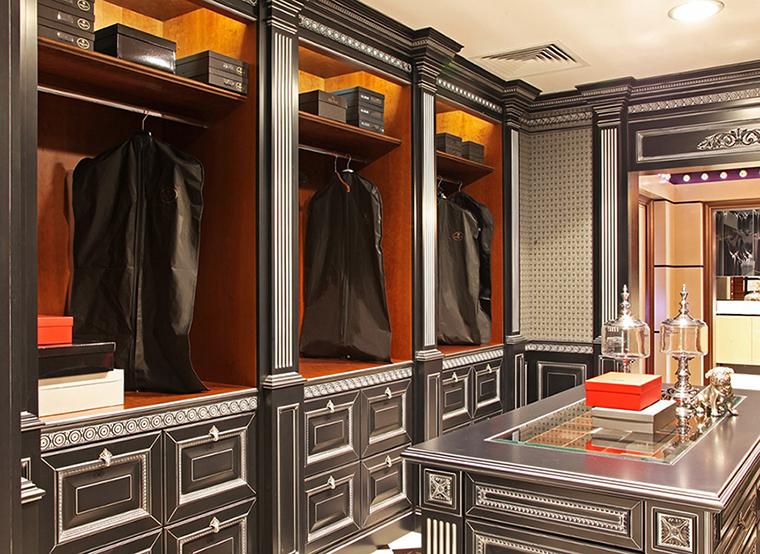 интерьер гардеробной - фото № 36366