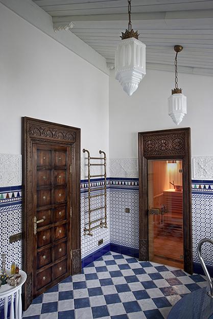 Загородный дом. ванная из проекта , фото №36429