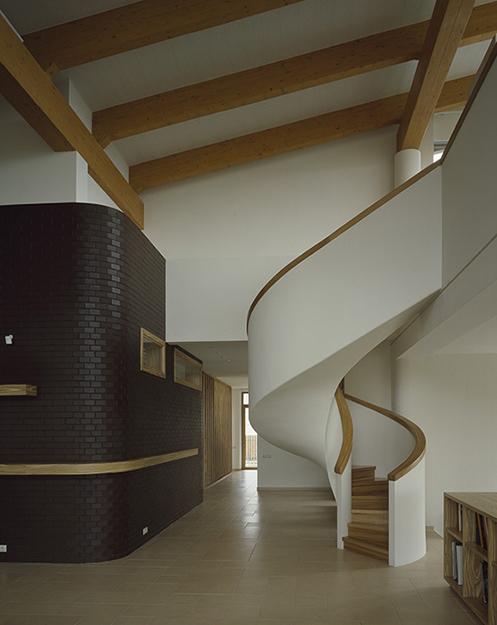Загородный дом. холл из проекта , фото №36520