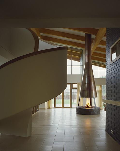 Загородный дом. холл из проекта , фото №36521