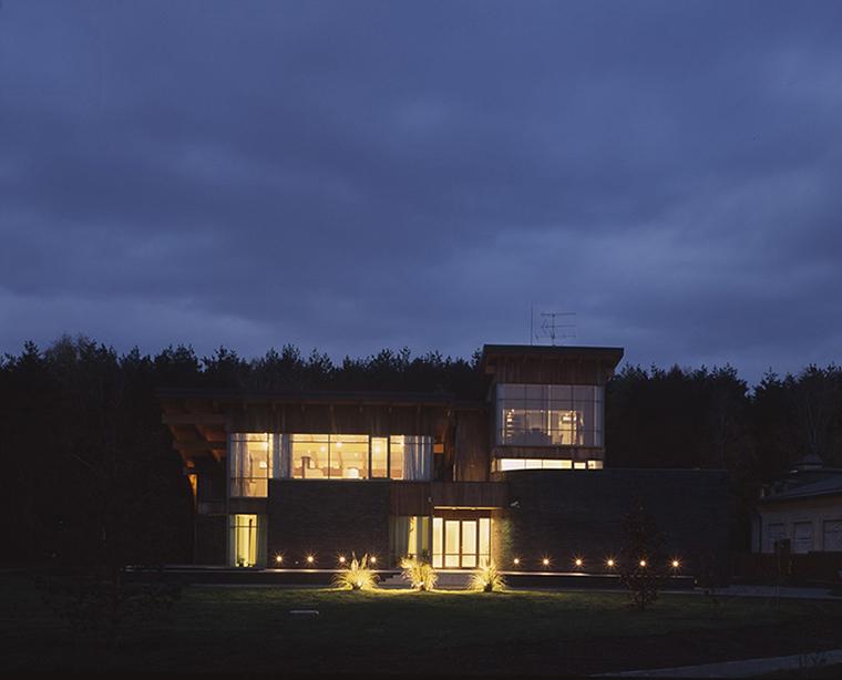 Загородный дом. фасад из проекта , фото №36508