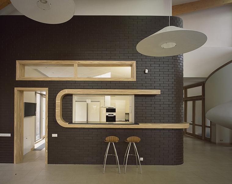 Фото № 36516 кухня  Загородный дом