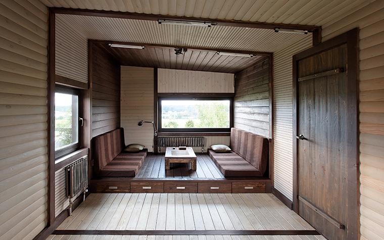 Загородный дом. кабинет из проекта , фото №36690