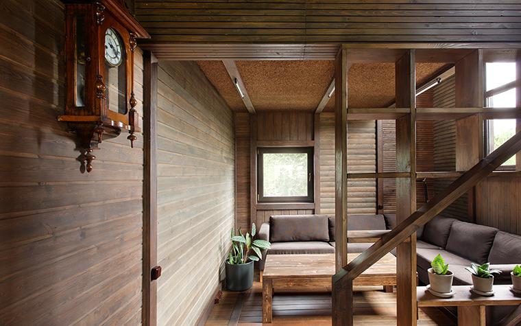 Загородный дом. гостиная из проекта , фото №36699