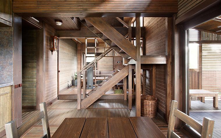 Загородный дом. холл из проекта , фото №36703