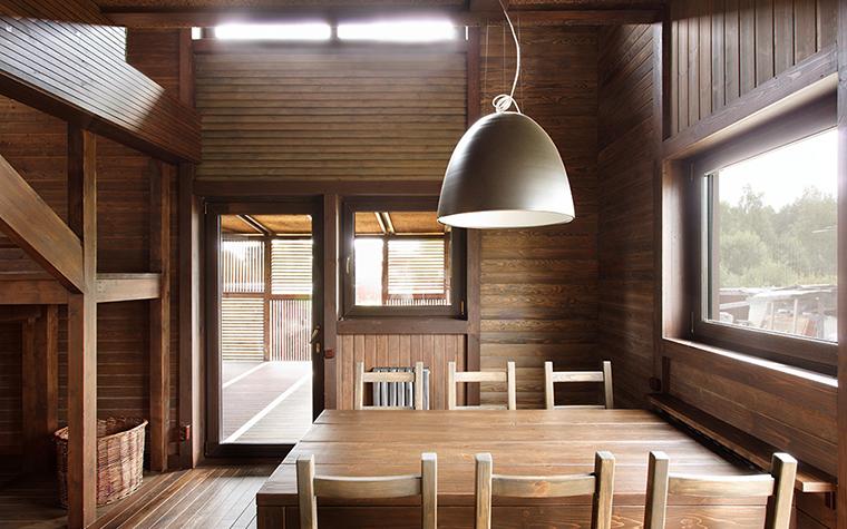 Загородный дом. столовая из проекта , фото №36706