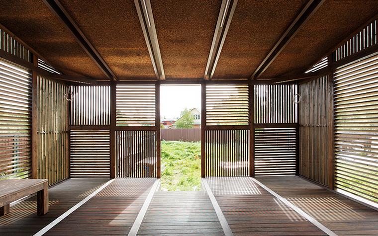 Загородный дом. веранда лоджия из проекта , фото №36688