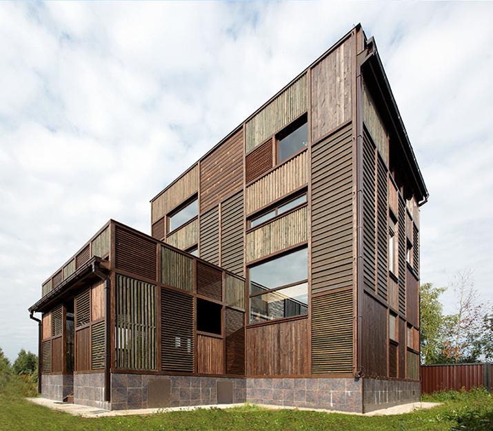 Загородный дом. фасад из проекта , фото №36677