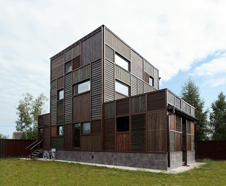 Загородный дом. фасад из проекта , фото №36679