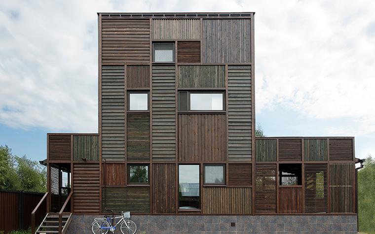 Загородный дом. фасад из проекта , фото №36680